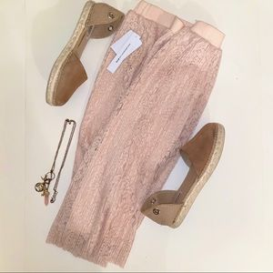 NWT Pale Pink Skirt